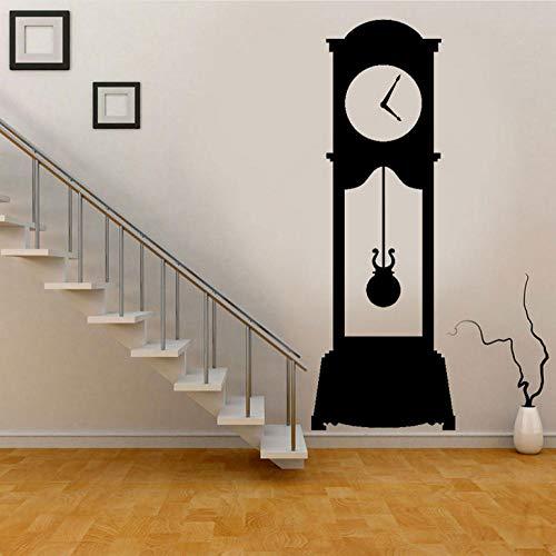 Wall Sticker Grandfather Clock - Wall Decal Custom Vinyl Art Stickers for -