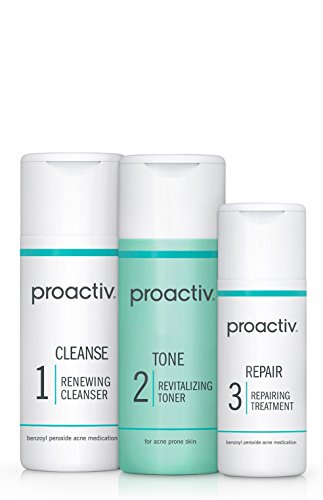 Proactiv Solution 3-Step Acne Treatment System (30 Day) Starter Size (Best Makeup For Adults With Acne)