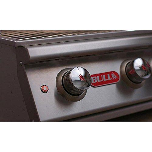 (Bull Outdoor Products 69008 LP Steer Premium Drop in Grill, Liquid Propane)