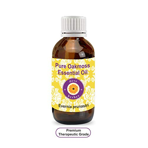 Deve Herbes Pure Oakmoss Essential Oil (Evernia prunastri) 100% Natural Therapeutic Grade Steam Distilled 15ml (0.50 oz) ()