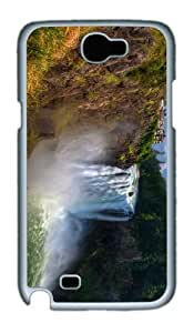 case brand new cases snoqualmie falls PC White case/cover for samsung galaxy N7100/2