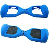 electric 2 wheel scooter - Aeneontrue 6.5inch Silicone Scratch Protector Cover Case For 2 Wheels Self Balancing Electric Hoverboard Scooter (Style1_Dark Blue)