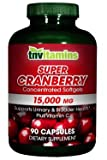 TNVitamins Cranberry 15,000 Mg Super Concentrated- 90 Capsules Review