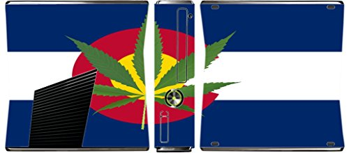 New Colorado State Flag Xbox 360 Slim (2010) Vinyl Decal Sticker Skin by