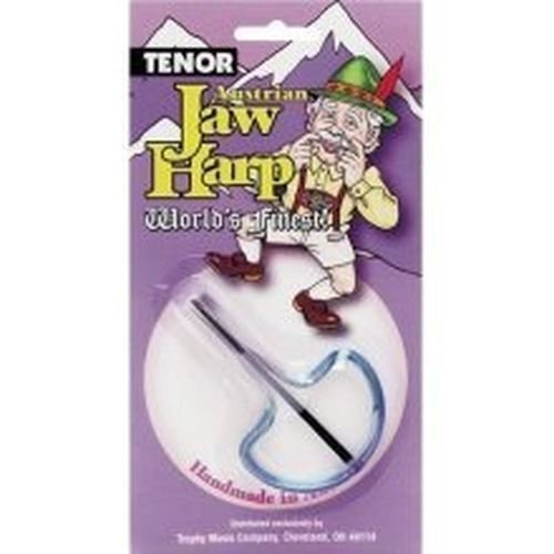 (New 3494 Trophy Tenor Jaw Harp Music Instrument Sale New In Pack)