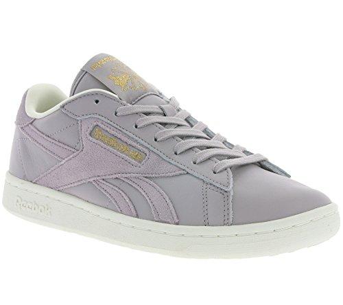 Reebok NPC UK AD Damen Sneaker Grau WHISPER GREY /CLASSIC