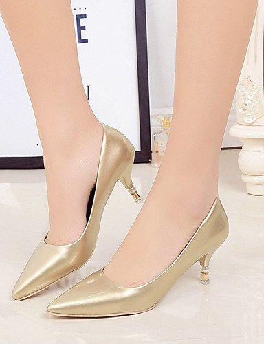 GGX/ Damen-Hochzeitsschuhe-Komfort / Spitzschuh-High Heels-Hochzeit-Silber / Gold 2in-2 3/4in-golden