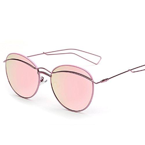 Embryform métal cadre rond lunettes de soleil mode femme wIkt4JgXQ