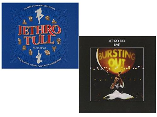 50 For 50 (Greatest Hits) - Bursting Out (Live) - Best Of Jethro Tull 2 CD Album Bundling ()