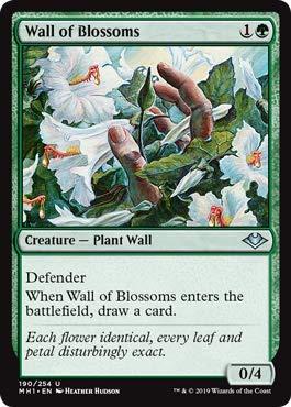 Magic: The Gathering - Wall of Blossoms - Modern Horizons