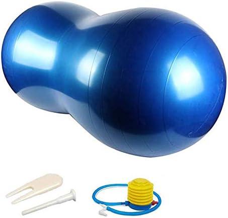 Fortitude Sports Boule de cacahu/ète Suisse 45 cm par 90 cm Fitness et th/érapie Physique Balle d/équilibre des cacahu/ètes Anti-/éclatement Balle dexercice pour Yoga
