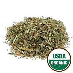 Starwest Botanicals Organic Lady\'s Mantle Herb C/S, 4 Ounces