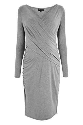 Grau Damen Maternity next Stillen Kleid Zum HY0HwRx