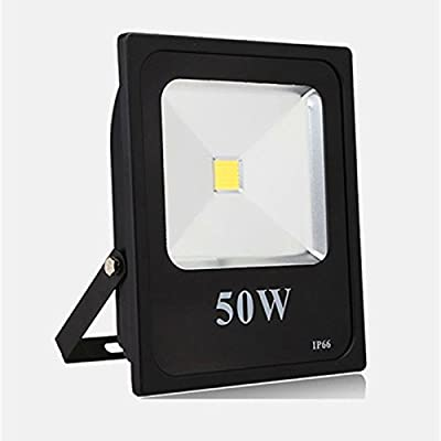 Cold White, 10W 12V : Led Flood Light Reflector 10w 20W 30W 50W 12v Black heat sink Waterproof Outdoor C0B Spotlight luminaire LED street Lamp color