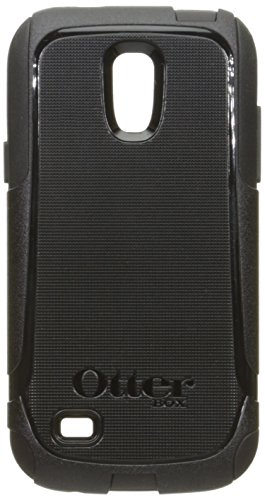 OtterBox Commuter Case for Samsung Galaxy S 4 Mini - Retail Packaging - Black