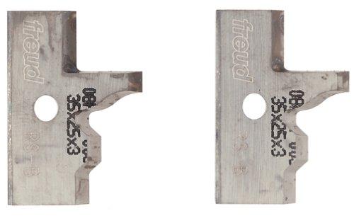 Insert Shaper Cutters - Freud RS-B Profile Knives For Freud RS1000 Or RS2000 Rail And Stile Insert Shaper Cutter