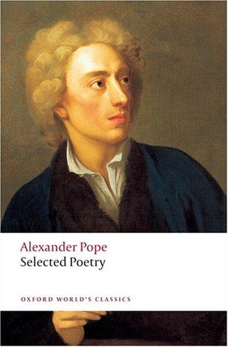 """""""Selected Poetry (Oxford World's Classics)"""" av Alexander Pope"""