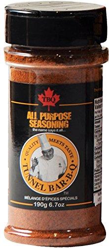 TBQ All Purpose Seasoning Spice Blend 190g - 6.7oz Vegan, Gluten Free (Sugar Free Bbq Sauce)