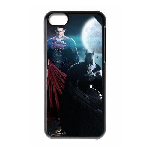 Superman Vs Batman PT01RV1 cas d'coque iPhone de téléphone cellulaire 5c coque M5WX8E7TI
