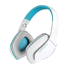 Alloet New Wireless Bluetooth4.1 Headphones Headset Foldable Gaming Headset with Mic for PS4 PC Mac Smartphones Computers