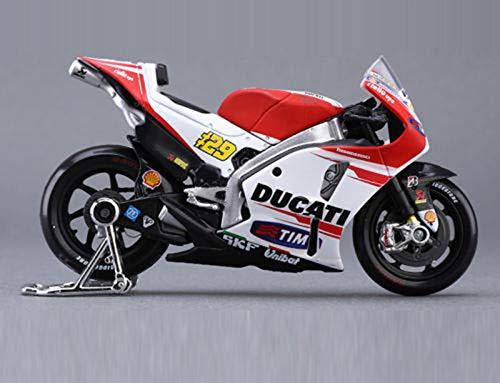 - Greensun 1:18 Die-cast Model MotoGP Race Bike for Ducati Motorcycle Model #29 Model Toys with Box for Kid Boys Gift