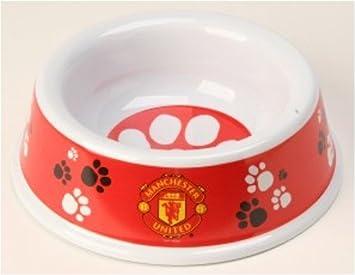 Manchester United F C Dog Bowl Amazon Co Uk Pet Supplies
