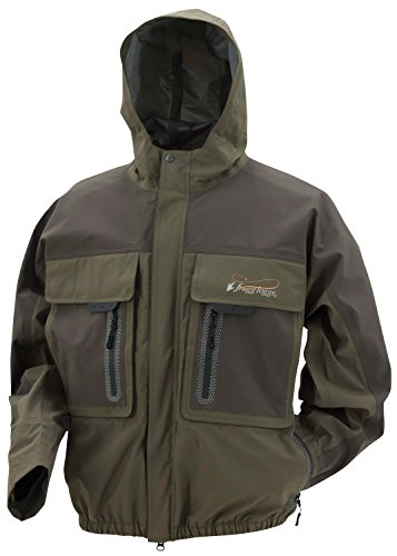 Frogg Toggs Pilot 3 Guide Rain Jacket, Stone/Taupe, Size Medium