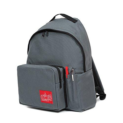Manhattan Portage Big Apple Backpack (MD) with Pen Holder (Grey)