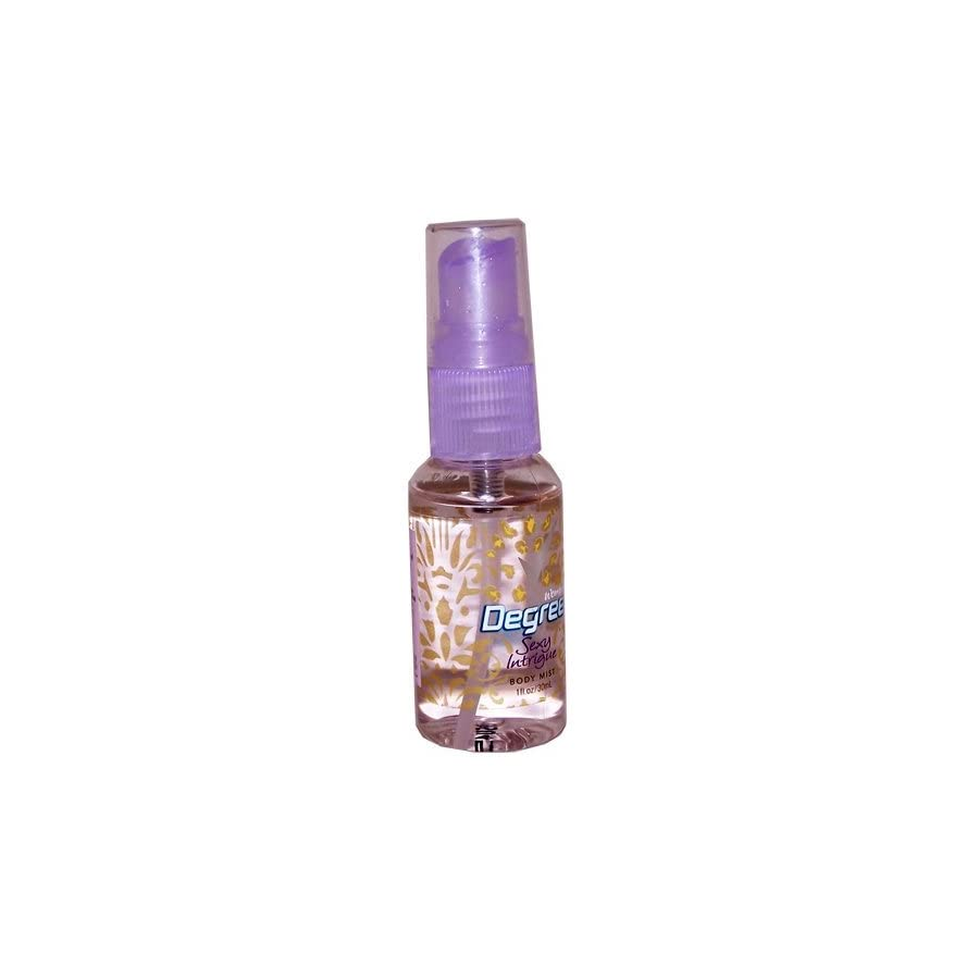 (TWO PACK) Degree Sexy Intrigue Body Mist 1 fl. oz. (Travel Size) for Women