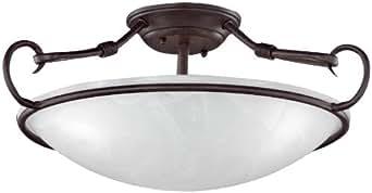 Honsel 22153 - Lámpara de techo con aire antiguo, color blanco