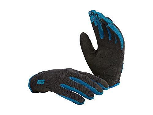 IXS TR-X1.1 Trail Biking Gloves - 472-510-5200 (Black/Blue - XL)