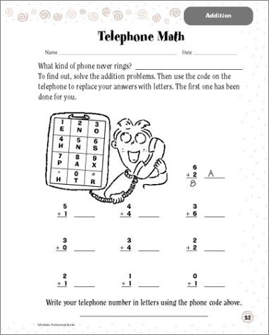 Amazon.com: Scholastic Success With: Math Workbook: Grade 1 ...