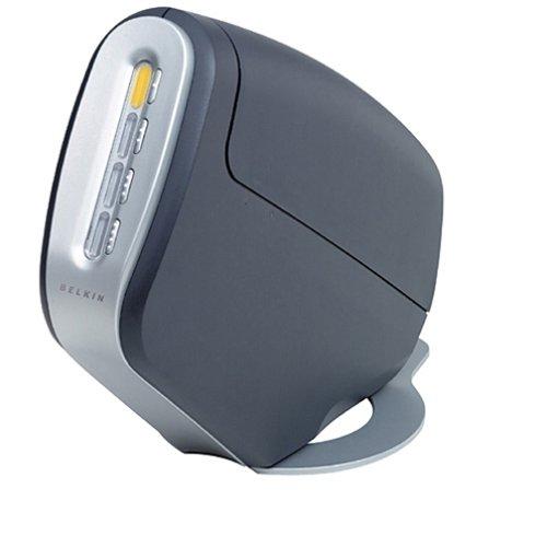 Belkin F1DD104U OmniView SOHO Series 4-Port KVM DVI Switch with Audio
