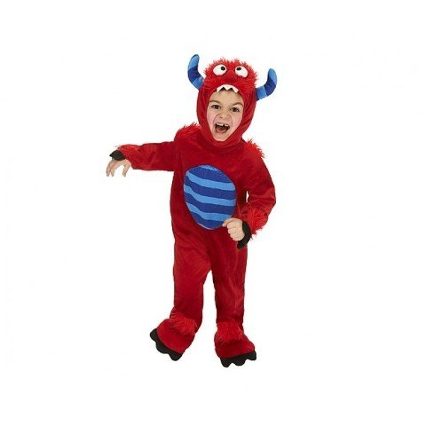 Just Pretend Kids Red Monster Animal Costume, Small by Just Pretend Kids -