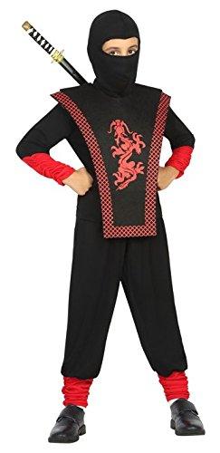 Atosa-22322 Disfraz Ninja, Color Negro, 10 a 12 años (22322 ...