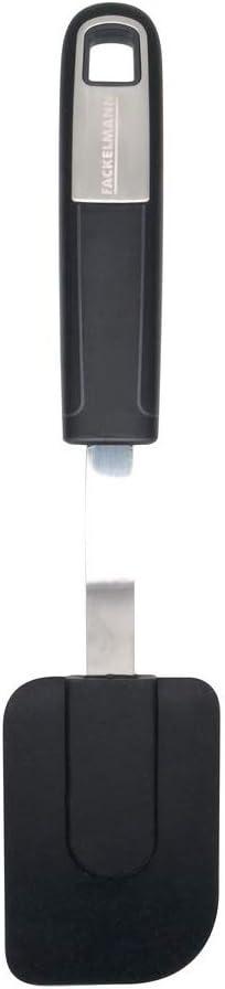 praktisch f/ür beschichtete Koch- Bratpinsel mit rutschfestem Soft-Touch-Griff FACKELMANN Backpinsel 24 cm Sense Menge: 1 St/ück Backutensilien Farbe: Silber//Schwarz