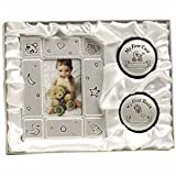 First Curl/Tooth Frame Set for Baby/Pewter/2''x3'' Frame/Tooth Box/Hair Curl Box/Baby Shower/New Baby