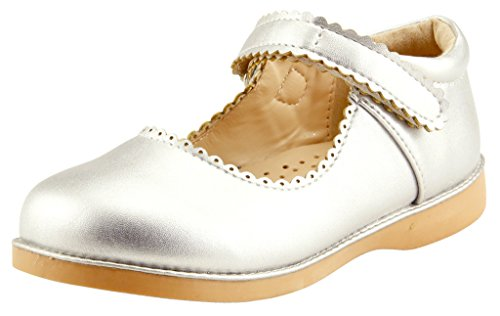 The Doll Maker Girl's Mary Jane - TD173057B-9 Silver