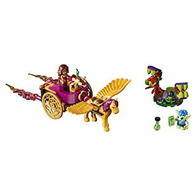 LEGO Elves Azari & The Goblin Forest Escape 41186 Building Kit (145 Piece): Toys & Games