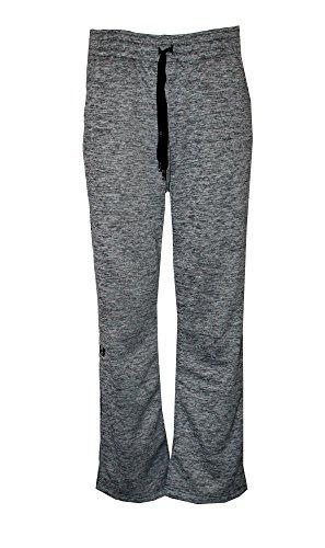 Under Armour Women's Fleece Lined Athletic Storm Water Resistant Pants Heather (Grey Heather, S)