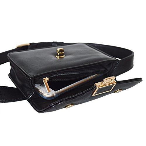 Waist Pouch Travel Hip Women Vogue Adjustable La Bum Black Men Bag pqaFwHg4