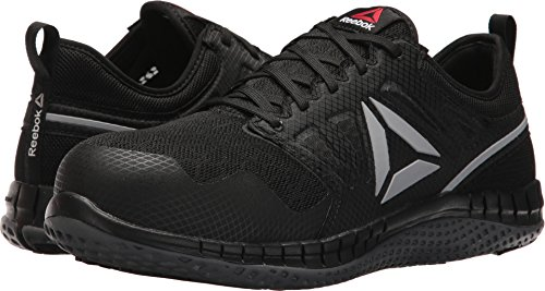 - Reebok Work Men's Zprint Work Black/Dark Grey 7.5 D US D (M)