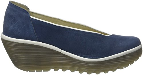 Fly London Damen Yuca839fly Pompen Blau (blauw / Offwhite)