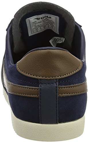 Homme Bullet Gola Tobacco Orange Suede Navy Bleu Baskets qtfAxAdwH7