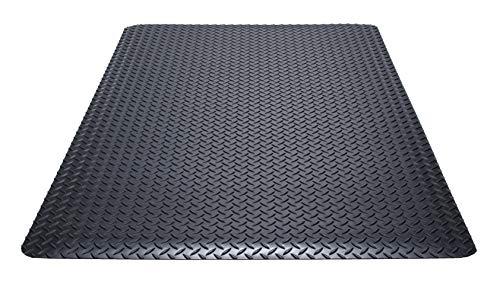 Guardian Safe Step Anti-Fatigue Floor Mat, Vinyl, 2'x3', Black ()