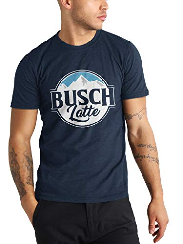 Busch Latte - Funny Vintage Trending Awesome Gift Shirt for Beer Lovers Unisex Style by SMLBOO Shirt (Unisex Navy, M)