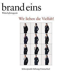 brand eins audio: Führung/Unterschied Hörbuch