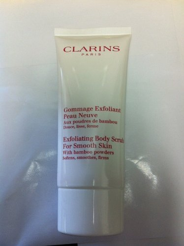 Clarins Exfoliating Body Scrub - Clarins Exfoliating Body Scrub For Smooth Skin With Bamboo Powders Travel Size - 3.5 Ounces