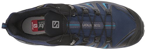 Salomon Women's X Ultra 3 GTX Trail Running Shoe, Medieval Blue/Black/Hawaiian surf, 5 B US by Salomon (Image #11)