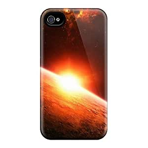 For Iphone 4/4s Fashion Design Sun Space Case-Bvm1790vWyo